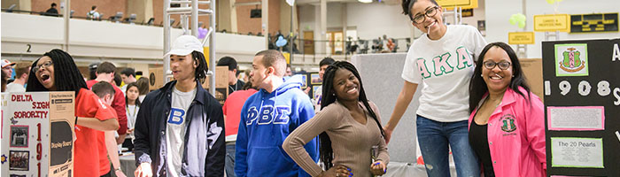 Involvement Fest Fraternities & Sororities